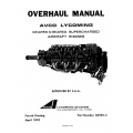 Lycoming Overhaul Manual 60294-5-4 Geared & Geared Supercharged GO-435 GO-GSO-IGO-IGSO-480/540 $13.95