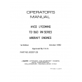 Lycoming Operator's Manual Part # 60297-26 TO-360 76 Series $13.95