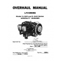 Lycoming Overhaul Manual 60298-4 O-320 & O-340 $13.95