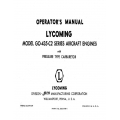 Lycoming Operator's Manual Part # 60299-1 GO-435-C2