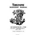 Triumph Unit Construction 650 cc Twins Workshop Manual 1963-1970