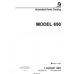 Cessna Model 650 Illustrated Parts Catalog 65PC26