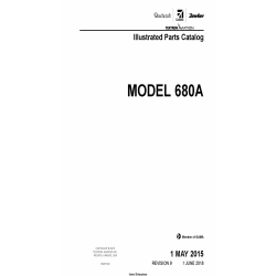 Cessna Manual 680A Illustrated Parts Catalog 68APC09 $35.95