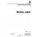 Cessna Model 680A Illustrated Parts Catalog 68APC03 $29.95