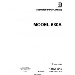 Cessna Model 680A Illustrated Parts Catalog 68APC03 $29.95