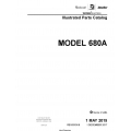Cessna Model 680A Illustrated Parts Catalog 68APC08 $35.95