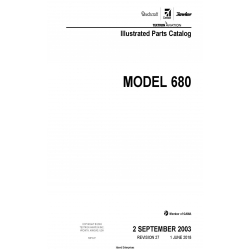 Cessna Model 680 Illustrated Parts Catalog 68PC27 $35.95