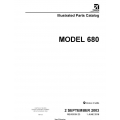 Cessna Model 680 Illustrated Parts Catalog 68PC23 $29.95