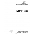 Cessna Model 680 Illustrated Parts Catalog 68PC26 $35.95