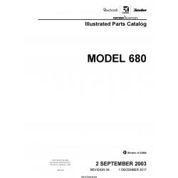 Cessna Model 680 Illustrated Parts Catalog 68PC26 $35.95