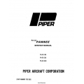 Piper Pawnee Service Manual PA-25, 150 235 260 $19.95 Part # 753-520