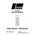 Piper Cherokee Service Manual PA-28-140/150/160/180/200 $13.95 Rev.2004 Part # 753-586