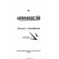 Piper Comanche Owner's Handbook 753-685
