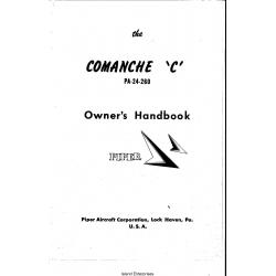 Piper Comanche C PA-24-260 Owner's Handbook 753-774