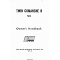 Piper PA-30 Twin Comanche B Owners' Handbook Part Number 753-697
