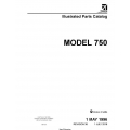 Cessna Model 750 Illustrated Parts Catalog 75PC36 SERIAL 750-0001 THRU 750-0500 $29.95