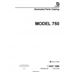 Cessna Model 750 Illustrated Parts Catalog 75PC36 SERIAL 750-0001 THRU 750-0500 $29.95