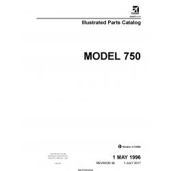 Cessna Model 750 Illustrated Parts Catalog 75PC38 $35.95