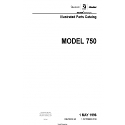 Cessna Model 750 Illustrated Parts Catalog 75PC40 $35.95