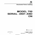 Cessna Model 750 (Serial -0501 AND ON) Illustrated Parts Catalog 75PCC07 $35.95