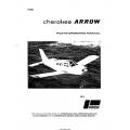 Piper Cherokee Arrow PA-28R-200 Pilot's Operating Manual Part # 761-578 $9.95