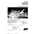 Piper Cherokee Archer II PA-28-181 Pilot's Operating Handbook Part # 761-624 $13.95
