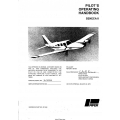 Piper Seneca II PA-34-200T Pilot's Operating Handbook Part # 761-634 $19.95