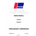 Piper Arrow III/TURBO ARROW III PA-28R-201/201T Service Manual 761-639 v2009 $19.95
