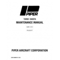 Piper Turbo Dakota Maintenance Manual PA-28-201T $13.95 Part # 761-702
