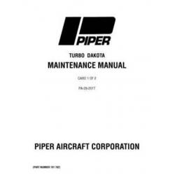 Piper Turbo Dakota Maintenance Manual PA-28-201T $13.95 Part # 761-702