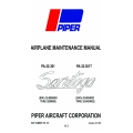 Piper Saratoga PA-32-301-PA-32-301T Maintenace Manual 761-721 v2009 $29.95