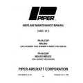 Piper Malibu/Mirage Maintenance Manual PA-46-310P & 46-350P $13.95 Part # 761-783
