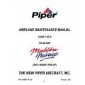 Piper PA-46-350P Malibu Mirage (S/N 436001 AND UP) Maintenance Manual 761-876 v2007 $29.95