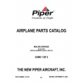 Piper Malibu Mirage Parts Catalog PA-46-350P $13.95 Part # 761-878