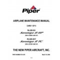 Piper Saratoga II HP/ II TC Maintenance Manual PA-32R-301/301T $13.95 Part # 761-879
