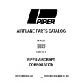 Piper Seneca III/IV Parts Catalog PA-34-220T $13.95 Part # 761-750