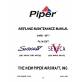 Piper Seneca IV/V Maintenance Manual PA-34-220T $13.95 Part # 761-888