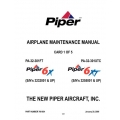 Piper 6X/6XT Maintenance Manual PA-32-301FT/XTC $13.95 Part # 766-854
