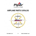Piper Malibu Meridian Parts Catalog PA-46-500TP $13.95 Part # 767-004