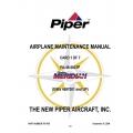 Piper PA-46-500TP Malibu Meridian (S/N 469 7001 and UP) Maintenance Manual 767-005 v2007 $29.95