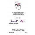Piper PA-34-220T, Seneca IV-V50 Hour Progressive Inspection Manual (S/N'S 3447001 thru 3447029) 767-006 v2012 $29.95
