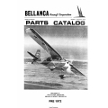 Bellanca Models 7ECA, 7GCAA, 7GCBC and 7KCAB, Illustrated Parts Catalog $13.95