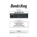 Bendix King AeroPanel 100 Audio Selector Panel Installation and Operator's Manual 89000063-011