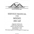 Bellanca 8KCAB Service Manual $9.95