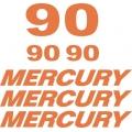 Mercury 90 HP Boat Motor Decal/Sticker!