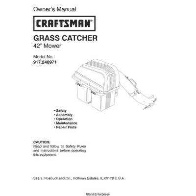 Sears 917 378420 Manual