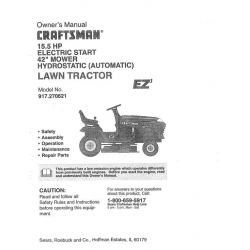 Craftsman tractor lawn manual pdf