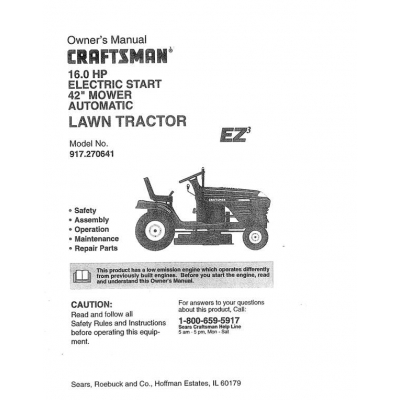 Craftsman lawn mower manual / 4323 vermont route 108 south