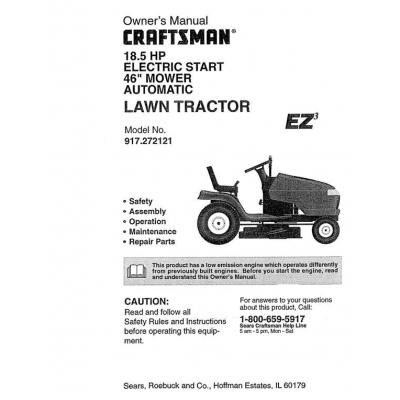 sears craftsman ii snowblower manual