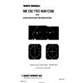 Narco MK 12D TSO NAV/COM & ID 824 TSO/ID825 TSO Indicators Installation Manual 03118-0620